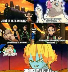 Kimetsu No Yaiba Cómics - (memes) - Wattpad Anime Meme, Otaku Anime, Anime Manga, Fuuny Memes, Estilo Anime, Dragon Slayer, My Hero Academia Manga, Anime Comics, Webtoon