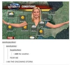 I am the weather