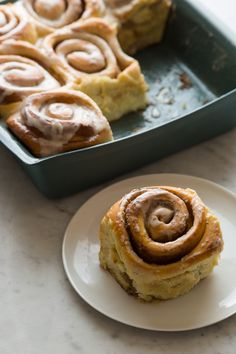 Brown Butter Cinnamon Rolls from Spoon Fork Bacon