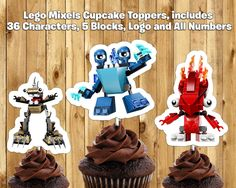 Ideas Birthday Parties Cupcake Toppers Theme Party Themes Cake