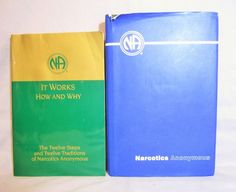 Narcotic Anonymous Basic Text NA How it Works And Why 2 Books 12 Step Recovery