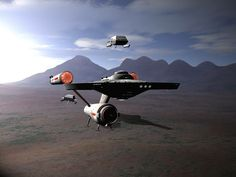 Interesting Concept of the Enterprise landed.