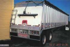 1997 Cornhusker Ultra Lite Grain Hopper Trailer Heavy Equipment For Sale, Trailers, Trucks, Pendants, Truck, Cars