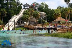 Buccaneer Bay. Florida's only spring fed water park.