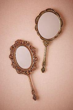 Scalloped Vanity Mirror