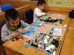Lego Kid Cafe!--Block Bus Lego Seoul Korea play place--Koreaye.com---