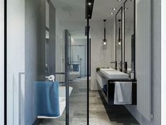Zdjęcie projektu HomeKoncept-38 KRX1043 Modern Family House, Bungalow, Bathtub, House Design, Bathroom, Nice, Standing Bath, Washroom, Bath Tub