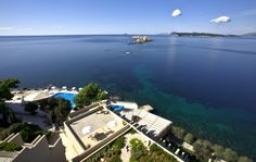 Epic view from the Palace Hotel Dubrovnik, Croatia!