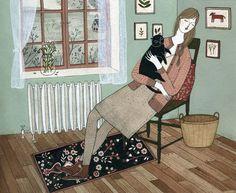 Yelena Bryksenkova. Cat nap.