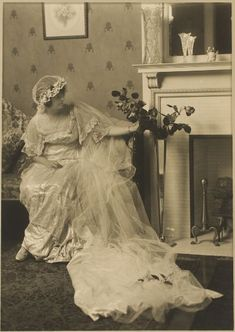 1910 beautiful bride.