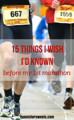 What I Wish I'd Known Before My First Marathon | Marathon Training | Running Tips