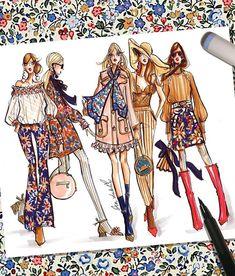 Fashion Illustration Design fashion illustration, fashion sketches by - Fashion Model Sketch, Fashion Design Sketchbook, Fashion Illustration Sketches, Illustration Mode, Fashion Design Drawings, Fashion Sketches, Trendy Fashion, Fashion Art, Fashion Models