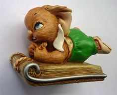 RARE Vintage Pendelfin Rabbit: SLEDGER on his sledge PRISTINE