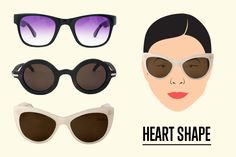 How to choose the right sunnies for your face — all stylish, we promise!