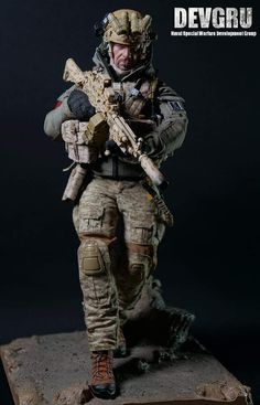 Military Action Figures, Custom Action Figures, Special Ops, Special Forces, Airsoft, Us Ranger, Ghost Recon 2, Modern Toys, Zombie Movies