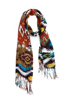 Aztec Print Scarf.. I must have this ..now!!!
