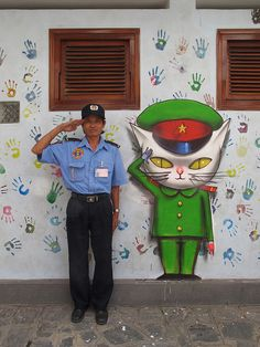 miaow, Ho Chi Minh City, 2010. street art 000