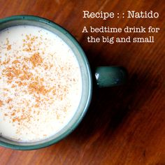 Natido : : A Bedtime Drink for Big and Littles via Crafting Connections