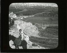 Greek Theatre with modern, Syracuse, Sicily | saskhistoryonline.ca