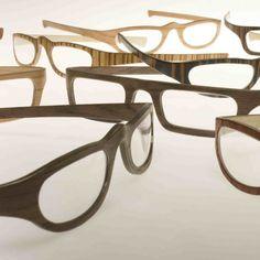 wooden glasses frame