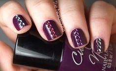 purple rhinestones
