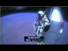 Felix Baumgartner reacts to becoming the first skydiver to go faster than the speed of sound, after freefalling from 24 miles above the earth. More on Felix . Felix Baumgartner, Red Bull, Speed Of Sound, High Jump, World Records, Hd 1080p, New Mexico, Astronomy, Cruise