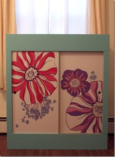 This painted dresser is beautiful!