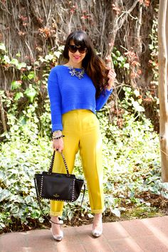 Hot trend: BLUE. The best colour for this spring! You can wear it as a full - look or just a one main blue piece. We love it!