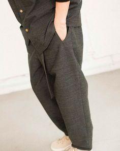17-18AW / Blanc YM . . HPに全lookをUPしました. . . . #blancym#mensfashion #menfashion #fashion#pants#gray#tokyoblanc.ym
