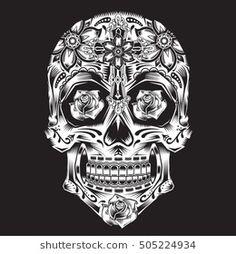 65 Best SUGAR SKULL images   Sugar skull, Mexican, Sugar skull face a979627871