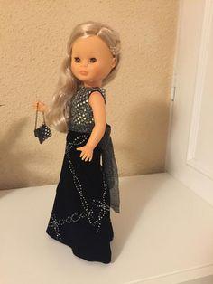 f0fcaa76b Vestido de fiesta para muñeca Nancy clásica. Vestido de fiesta para muñeca  Nancy clásica de segunda mano por 35 € en Madrid en WALLAPOP