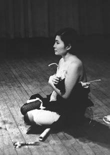 Yoko Ono's Cut Piece, Fluxus Perfromance