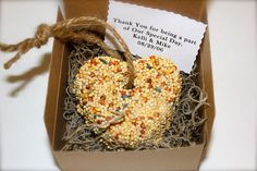 Wedding Favors 200 Birdseed Heart Favors Personalized Wedding Favors (custom orders welcome) Bird Seed YOU PICK 3 inch. $300.00, via Etsy.
