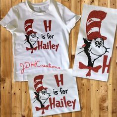 Custom Design Shirts, Custom Tees, Vinyl Shirts, Kids Shirts, Dr Seuss Shirts, Mulberry Street, Trendy Kids, Personalized Shirts, Clothespins