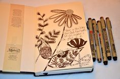a peek into my sketchbook featured by C.R. Gibson...click for details:)