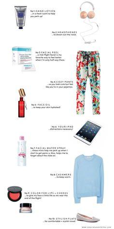 Sequins & Stripes - 10 Travel Essentials