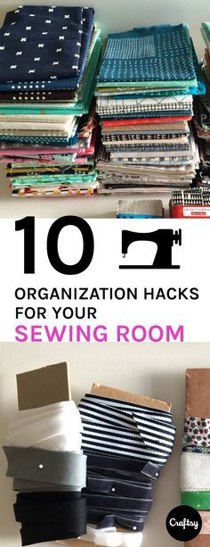 '10 Sewing Room Organization Hacks You Need to know...!' (via The Craftsy Blog)