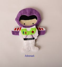 Astronaut felt paper doll, iceman prince felt paper doll, pretend play, quiet play, imaginary play, travel toy, felt non paper doll, by LucyandLyla on Etsy
