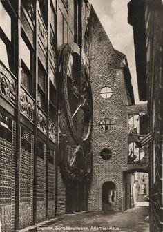 Hoetger, Bernhard - Atlantis Haus, Böttcherstraße, Bremen, 1926-1931
