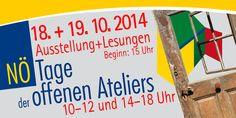 NÖ Tage der offenen Ateliers 18./19. Oktober 2014 im KULTUR•PUNKT Hardegg, der kleinste Galerie in der kleinsten Stadt Österreichs: Gemeinschaftsausstellung und 2 Lesungen! http://www.grieder.info/kulturpunkt/2014/09/no-tage-der-offenen-ateliers-umkreisungen/
