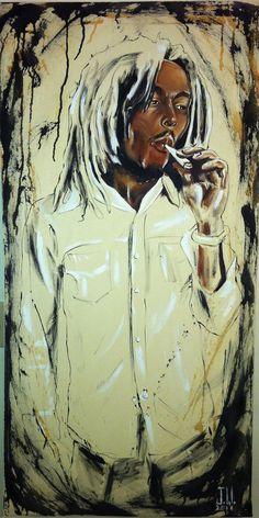 Bob Marley by Jeremy Worst