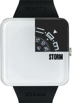 Storm Squarex White Watch