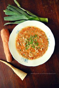 Moje Dietetyczne Fanaberie: Zupa a'la Sztaba