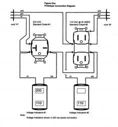 Impressive 110 Volt Outlet Wiring Diagram Wiring From 110 To 220 Diagram - Wiring  Diagram | Outlet wiring, Diagram, WirePinterest