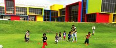 GGIS amenities include a ground. Basketball Court, Soccer, The Dreamers, Football, World, Children, Sports, Young Children, Hs Sports