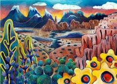 Taos New Mexico by elljaye on deviantART