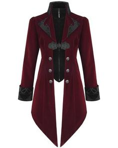Devil fashion mens lannister jacket - red   black. Steampunk  JacketSteampunk ClothingGothic ... 1ba5188d857