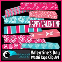 Valentines Day Background, Washi Tape, Art Images, Special Occasion, Clip Art, Digital Papers, Future Classroom, Language Arts, Teaching Resources