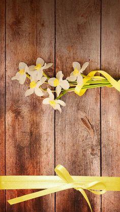 Madeira e flor