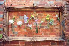 Garden Wedding decor idea | via BridalMusings | photo by Yellow Bird Photography